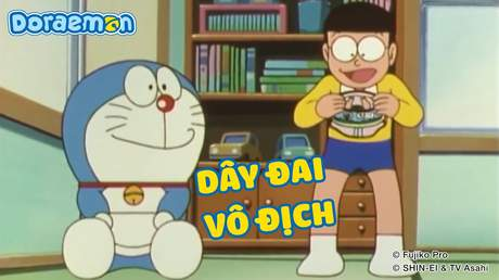 Doraemon - Tập 112: Dây đai vô địch