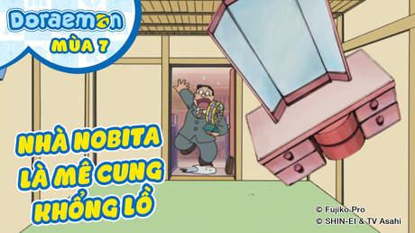 Doraemon S7 - Tập 339: Nhà Nobita là mê cung khổng lồ