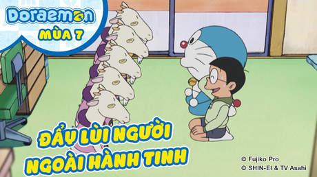 Doraemon S7 - Tập 343: Đẩy lùi người ngoài hành tinh