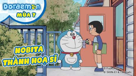 Doraemon S7 - Tập 349: Nobita thành hoạ sĩ