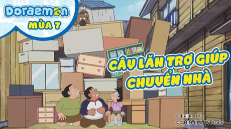 Doraemon S7 - Tập 353: Cây lăn trợ giúp chuyển nhà