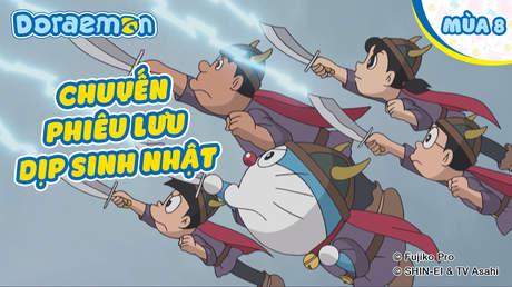 Doraemon S8 - Tập 366: Chuyến phiêu lưu dịp sinh nhật
