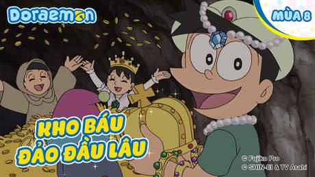 Doraemon S8 - Tập 368: Kho báu đảo Đầu Lâu