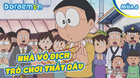 Doraemon S8 - Tập 376: Nhà vô địch trò chơi thắt dây