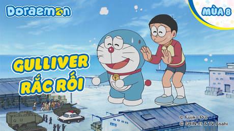 Doraemon S8 - Tập 388: Gulliver rắc rối