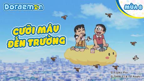Doraemon S8 - Tập 396: Cưỡi mây đến trường