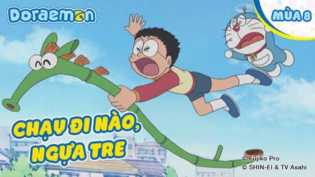 Doraemon S8 - Tập 404: Chạy đi nào, ngựa tre