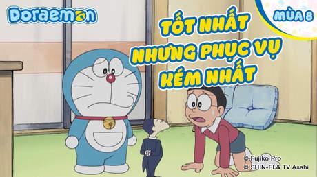Doraemon S8 - Tập 406: Tốt nhất nhưng phục vụ kém nhất