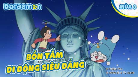 Doraemon S8 - Tập 407: Bồn tắm di động siêu đẳng