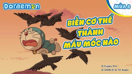 Doraemon S8 - Tập 408: Biến cơ thể thành máy móc nào