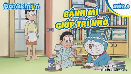 Doraemon S8 - Tập 413: Bánh mì giúp trí nhớ