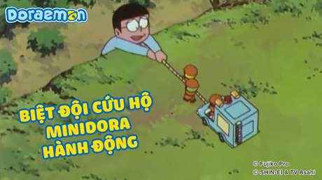Doraemon - Tập 151: Biệt đội cứu hộ Minidora hành động