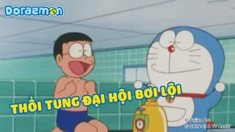 Doraemon - Tập 164: Thổi tung đại hội bơi lội