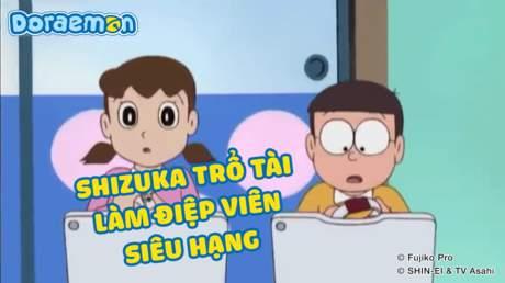 Doraemon - Tập 173: Shizuka trổ tài làm điệp viên siêu hạng