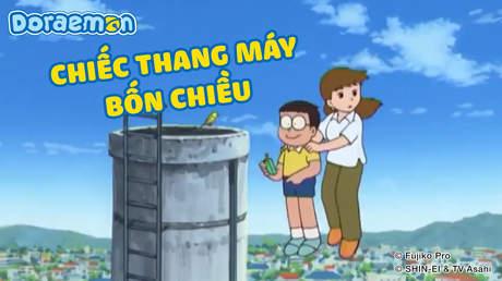 Doraemon - Tập 201: Chiếc thang máy bốn chiều