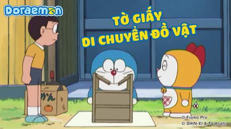 Doraemon - Tập 209: Tờ giấy di chuyển đồ vật