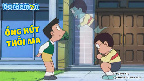 Doraemon - Tập 210: Ống hút thổi ma