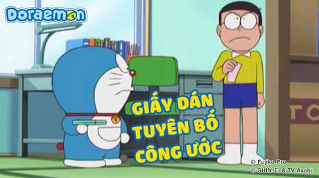 Doraemon - Tập 215: Giấy dán tuyên bố công ước