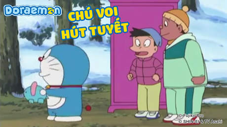 Doraemon - Tập 221: Chú voi hút tuyết