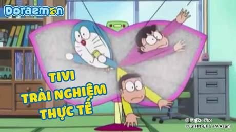 Doraemon - Tập 222: Tivi trải nghiệm thực tế