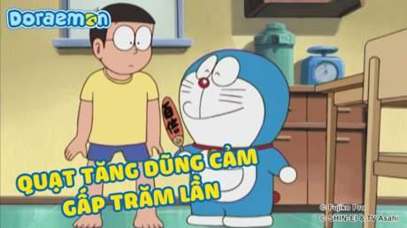 Doraemon - Tập 246: Quạt tăng dũng cảm gấp trăm lần