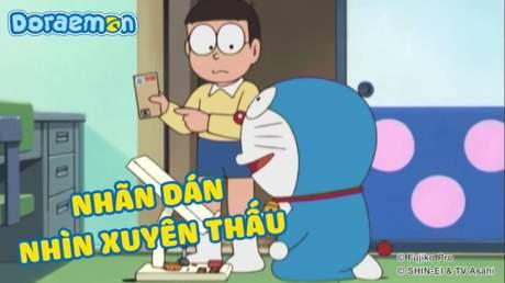 Doraemon - Tập 252: Nhãn dán nhìn xuyên thấu