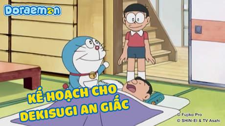 Doraemon - Tập 301: Kế hoạch cho Dekisugi an giấc