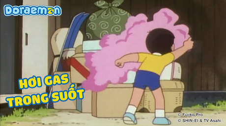 Doraemon - Tập 350: Hơi gas trong suốt