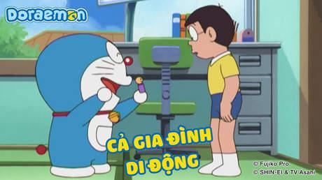 Doraemon - Tập 385: Cả gia đình di động