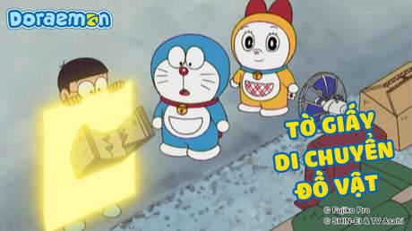 Doraemon - Tập 389: Tờ giấy di chuyển đồ vật