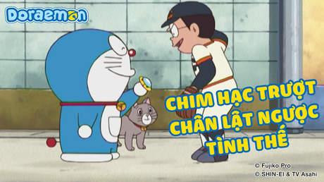Doraemon - Tập 400: Chim hạc trượt chân lật ngược tình thế