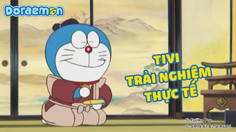 Doraemon - Tập 402: Tivi trải nghiệm thực tế