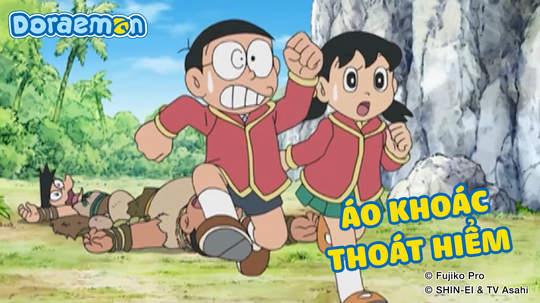 Doraemon - Tập 421: Áo khoác thoát hiểm