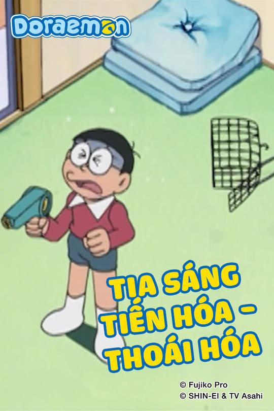 Doraemon - Tập 424: Tia sáng tiến hóa - thoái hóa