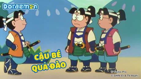Doraemon và các vở kịch kiệt tác - Tập 3: Cậu bé quả đào