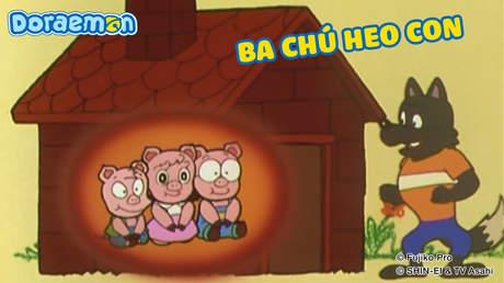 Doraemon và các vở kịch kiệt tác - Tập 5: Ba chú heo con