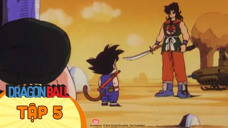 Dragon Ball - Tập 5: Cường địch tại sa mạc Yamcha