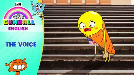 Gumball English - Ep 32: The voice