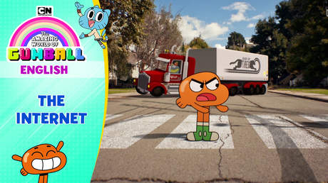 Gumball English - Ep 37: The internet