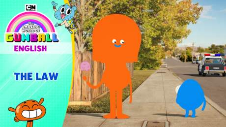 Gumball English - Ep 55: The law