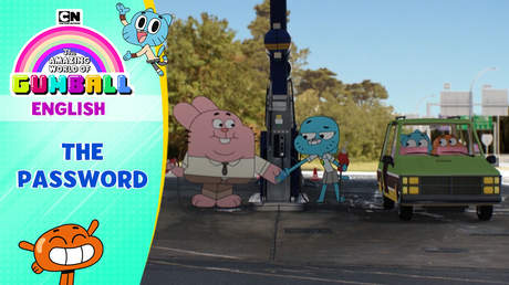 Gumball English - Ep 58: The password