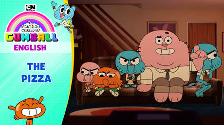 Gumball English - Ep 65: The pizza