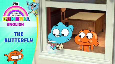 Gumball English - Ep 67: The butterfly