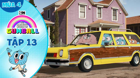 Gumball S4 - Tập 13: Đậu xe