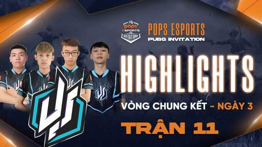Highlights VCK Ngày 3 - Trận 11
