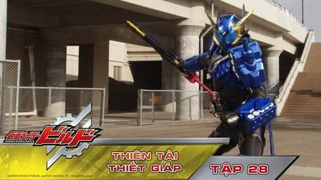 Kamen Rider Build - Tập 28: Thiên tài thiết giáp
