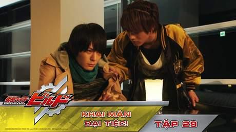 Kamen Rider Build - Tập 29: Khai màn đại tiệc!