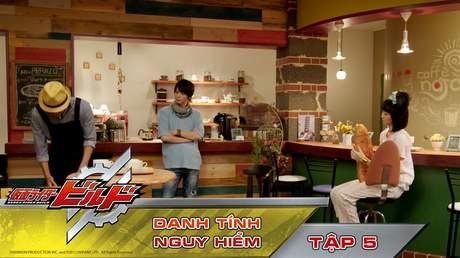 Kamen Rider Build - Tập 5: Danh tính nguy hiểm