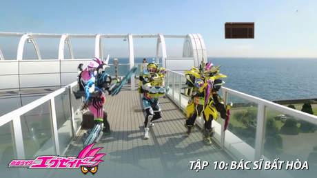 Kamen Rider Ex-aid - Tập 10: Bác sĩ bất hòa