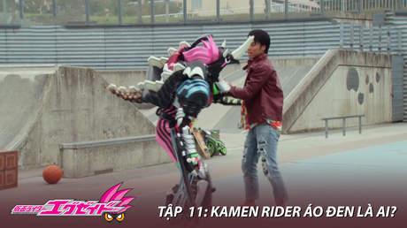 Kamen Rider Ex-aid - Tập 11: Kamen Rider áo đen là ai?